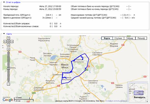 GPS dannie nozzlecrocodile pic6 1 Контроль расхода бензина и газа