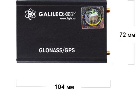 galileosky5.0 104 722 Online блок обработки данных а/м CAN шины GalileoSky v5.0